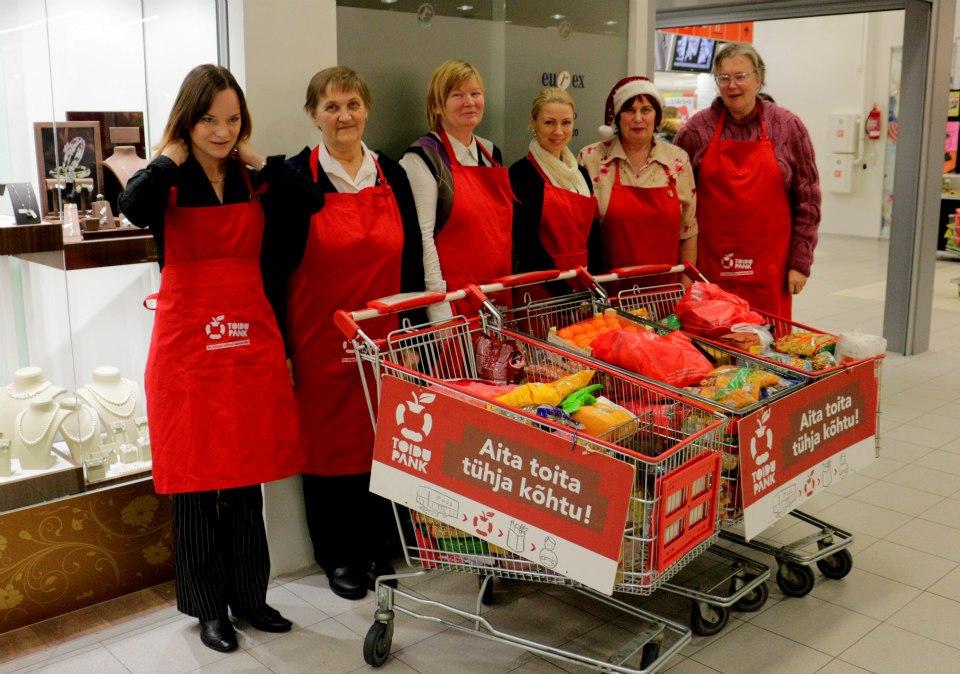 Eesti Toidupank: Toidukogumispäevad möödas, tulemused selgunud