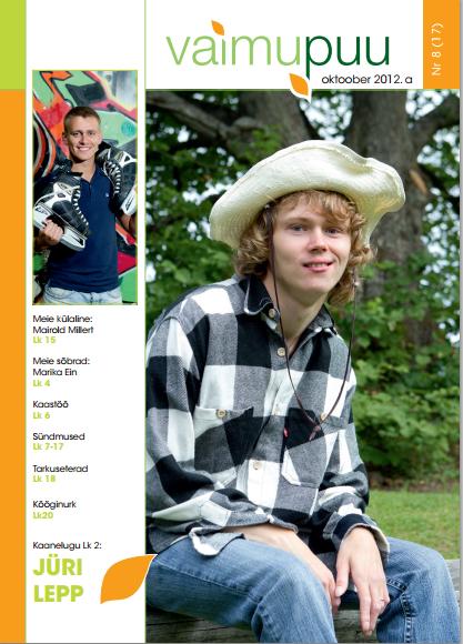 """Ajakiri """"Vaimupuu"""" on ajakiri vaimupuudega inimestele, mille üks toimetajatest on kirjanik Kerttu Rakke"""