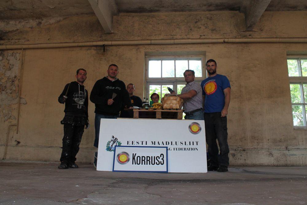 Spordikeskus Korrus3 korrastati talgupäeva raames vabatahtlike abiga