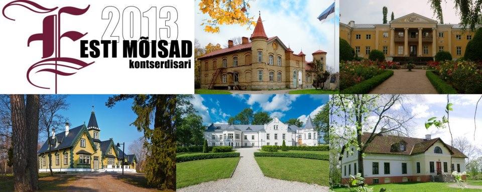 """Heategevusliku kontserdisarja """"Eesti mõisad 2013″ kontserdid toimuvad 25.-28. juulini"""