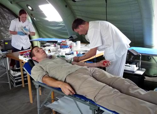 Verekeskus kutsub doonoreid Tallinna doonoritelki