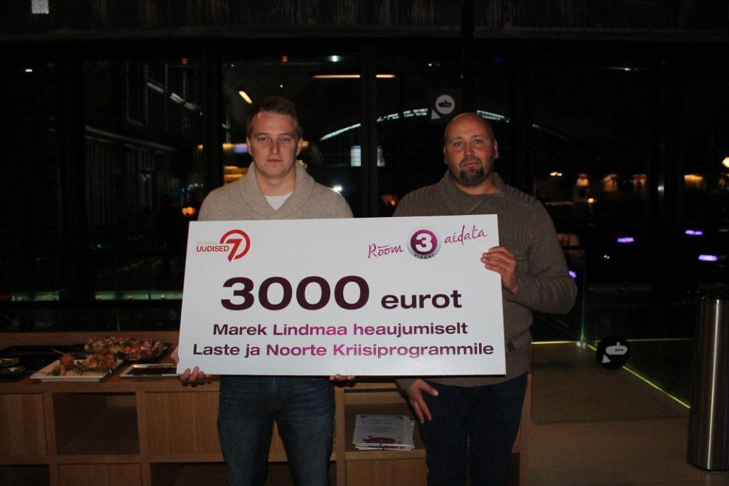 Marek Lindmaa heaujumine toetab lapsi 3000 euroga!