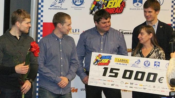 Heategevuslik motokross Tanel Leok ja sõbrad kogus heategevuseks 15 000 eurot