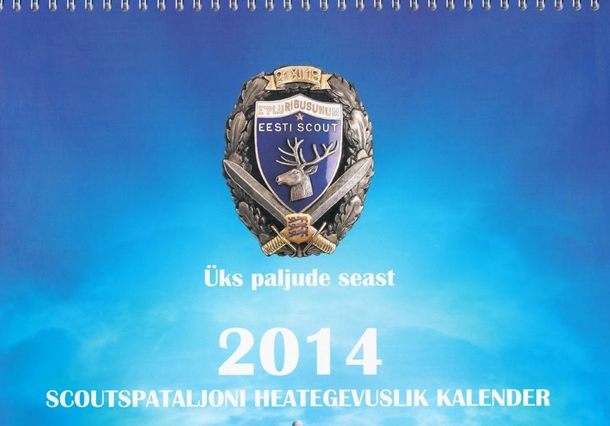 Scoutspataljon toetab heategevusliku kalendri müügiga haavata saanud kaitseväelasi