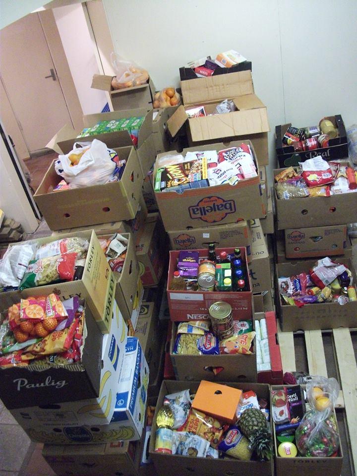 Toidupangad kogusid möödunud nädalavahetusel ligi 39 800 ühikut toidukaupu