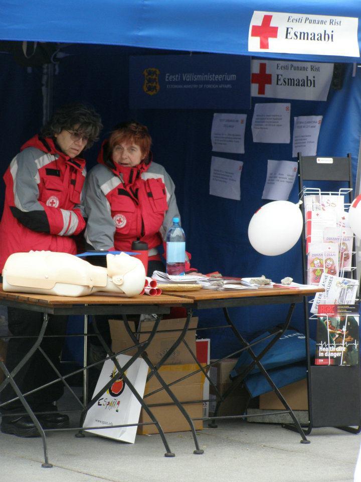 Eesti Punane Rist alustab Ukraina jaoks annetuste kogumist