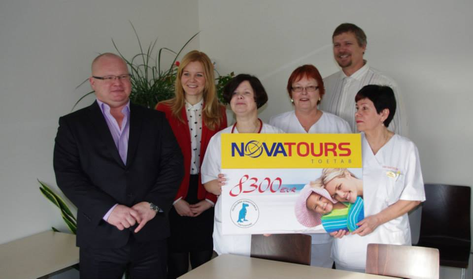 Novatoursi toetus toob Pelgulinna sünnitusmajja kümme känguruhoolduse tooli