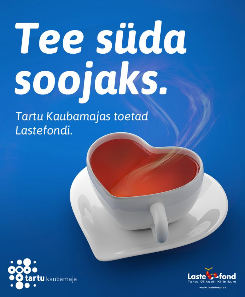 Tartu Kaubamaja toetab kampaaniaga Tartu Ülikooli Kliinikumi Lastefondi