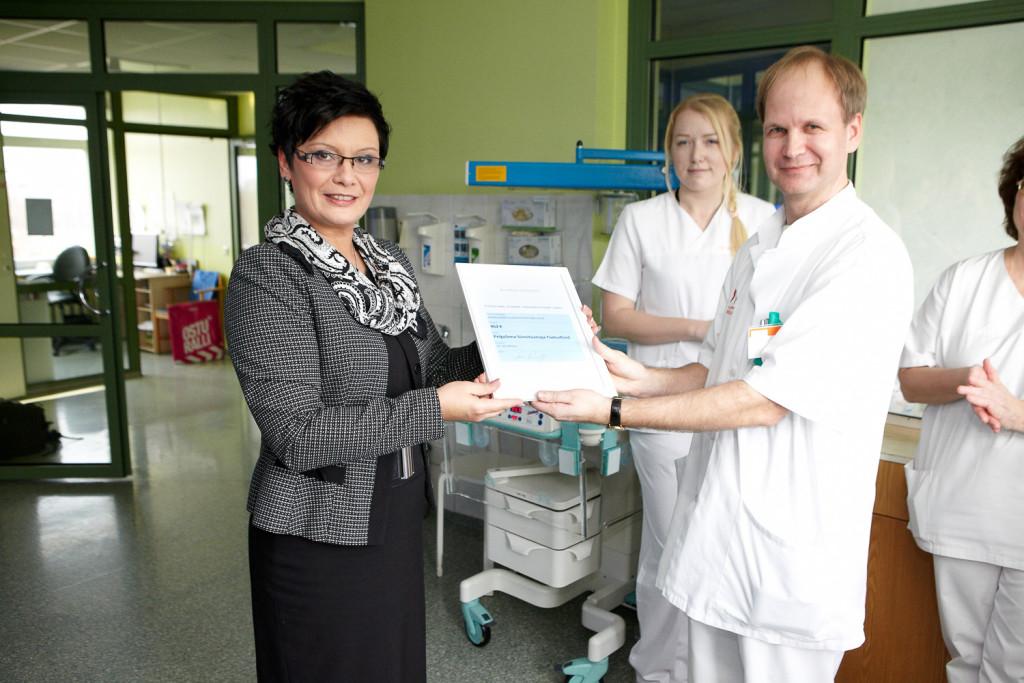 Laine Randjärv annetas Kuldvillaku saate võidu Pelgulinna sünnitusmaja toetuseks