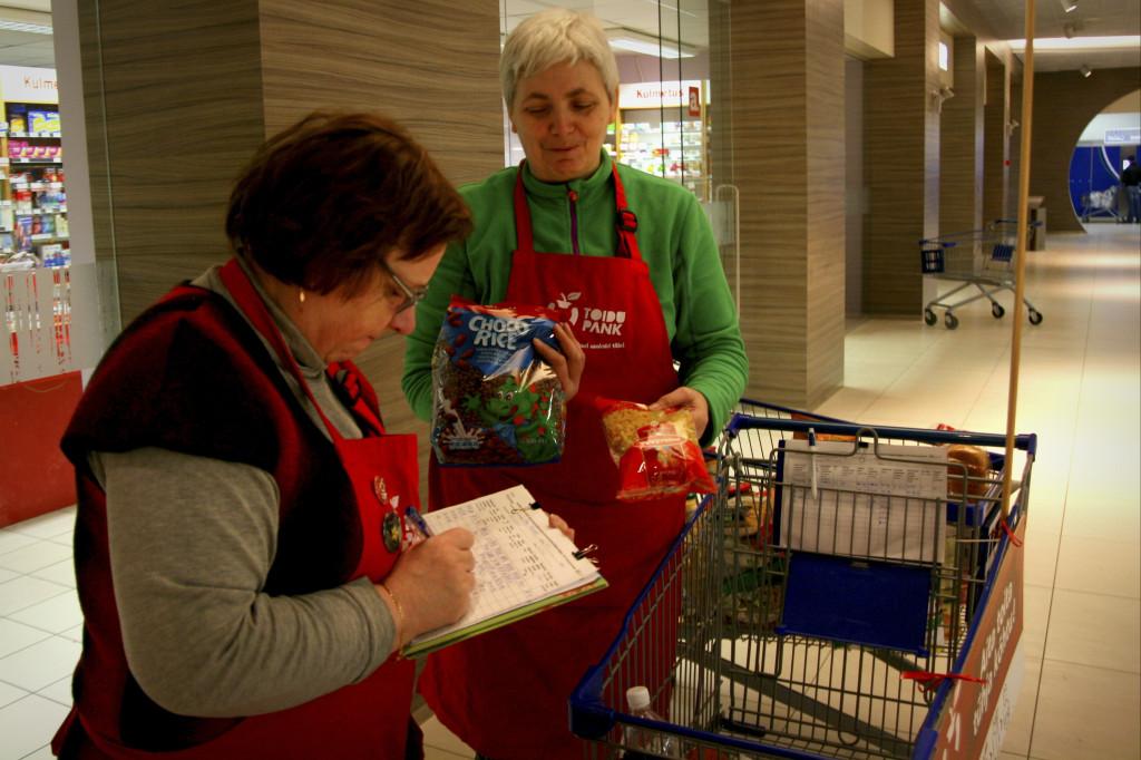 Toidupangad kogusid möödunud nädalavahetusel ligi 30 000 ühikut toidukaupu