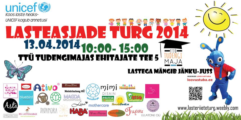 13.04.14 toimub taas Heategevuslik Lasteasjade Turg