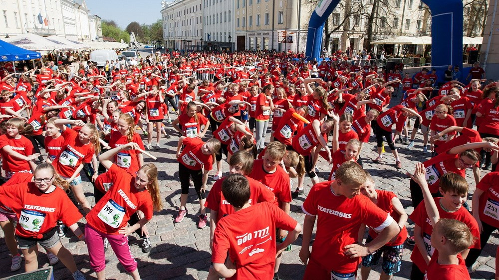Laste Teatejooks ootab heategevuse nimel jooksma tuhandeid lapsi üle Eesti