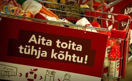 Tallinn toetab toidupanga tegevust 10 000 euroga
