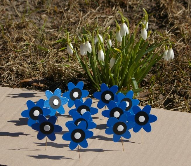 Uus heategevuskampaania kutsub kandma rinnas sinililleõit