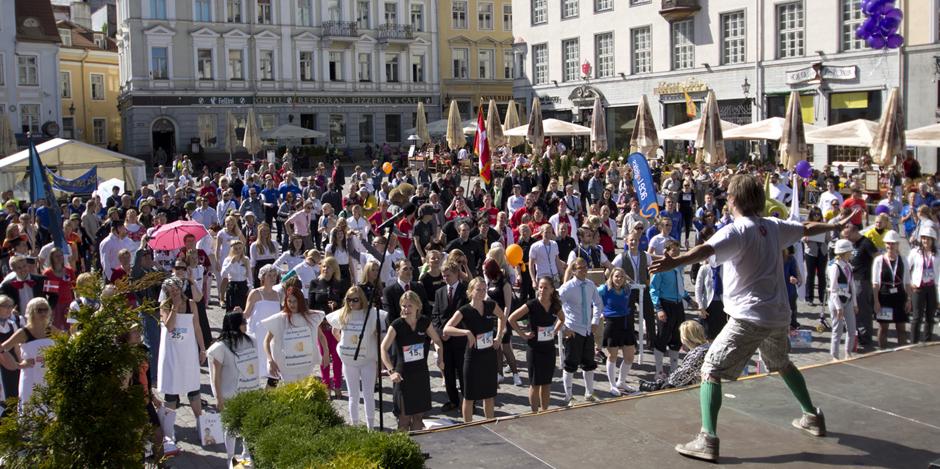 Heategevusjooks Rat Race 2014 stardib homme Tallinna Vanalinnas