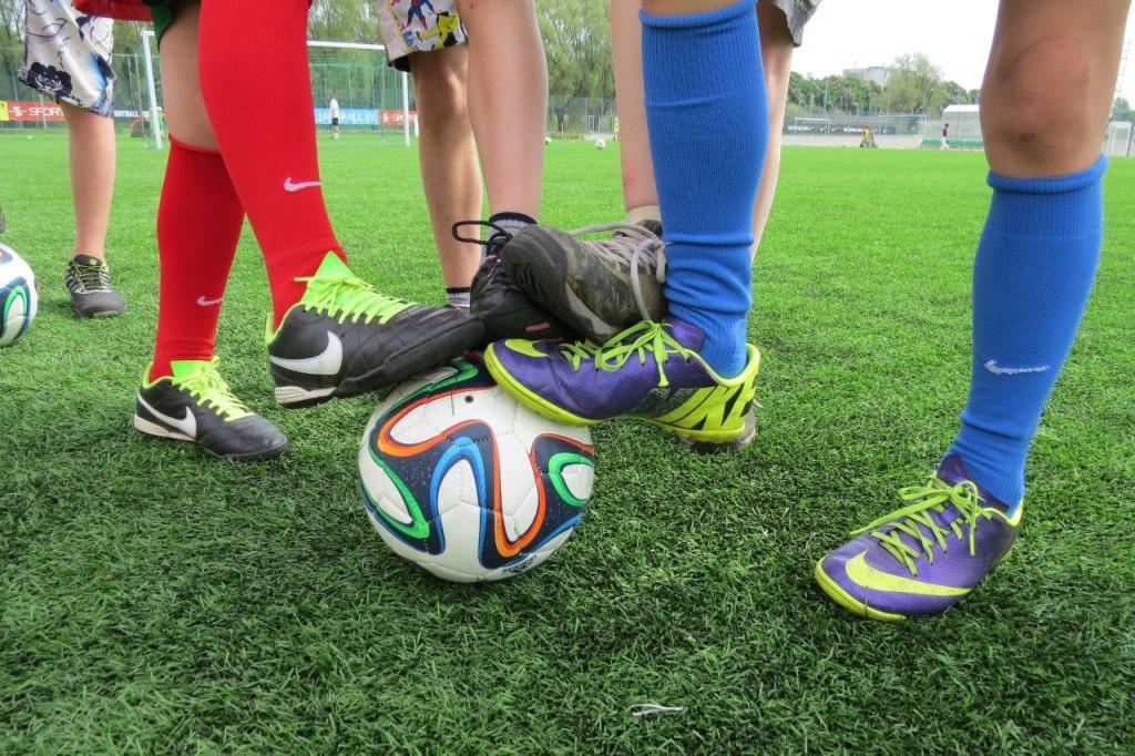 Pühapäeval toimus jalgpallipäev turva- ja asenduskodude lastele
