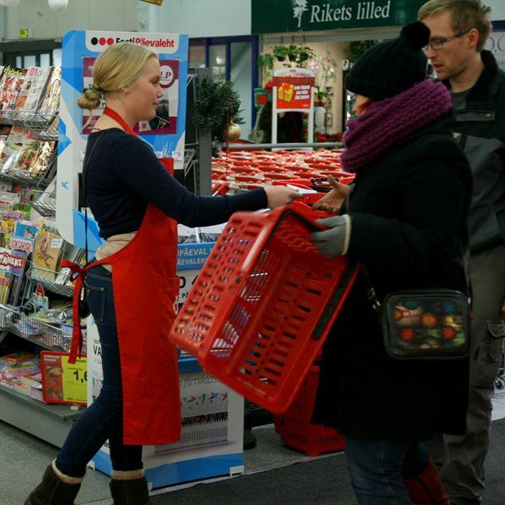 Toidupank korraldab täna üle-eestilise toidukogumispäeva