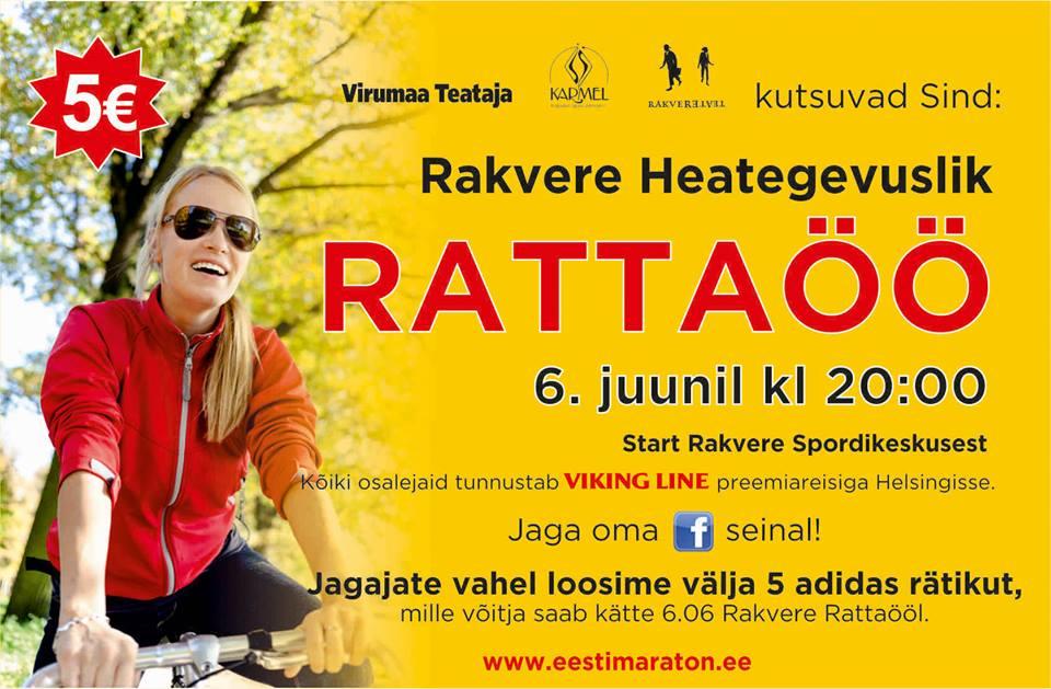 Rattaöö avab Rakvere Linnapäevad