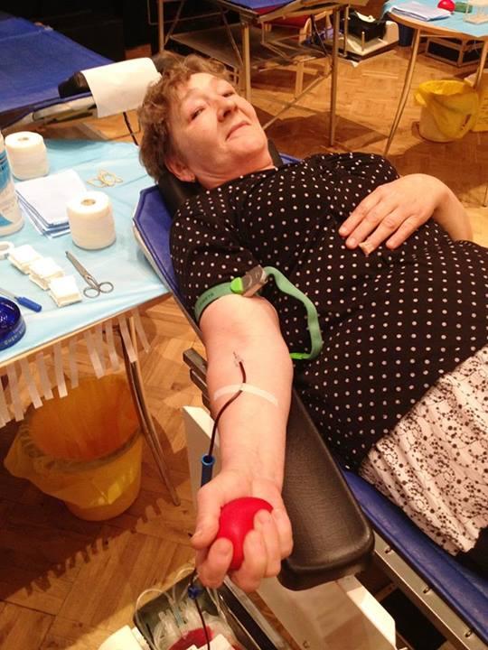 Tapal 100. korda verd andnud Ilme Tito, kes alustas doonorlusega juba 1987