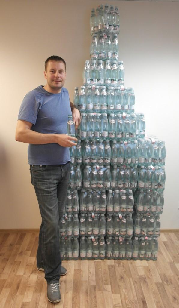 Borjomi kinkis Eesti Grilliliidule 1008 pudelit mineraalvett