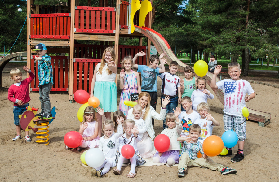 Laste r66m_TV3_Luisa Vark ja lapsed