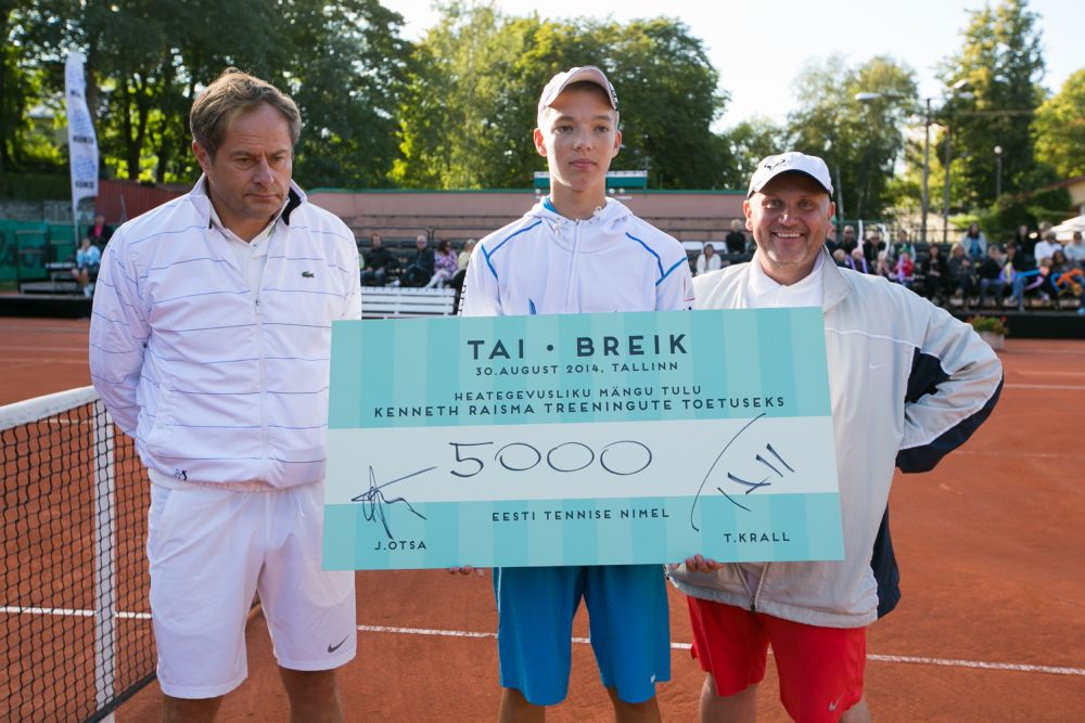 VAATA GALERIID! Kralli ja Otsa heategevusmatš kogus Kenneth Raisma toetuseks 5000 eurot