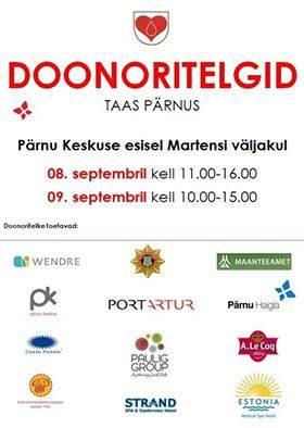 Pärnu haigla veretalitus toob taaskord doonoritelgid Pärnusse