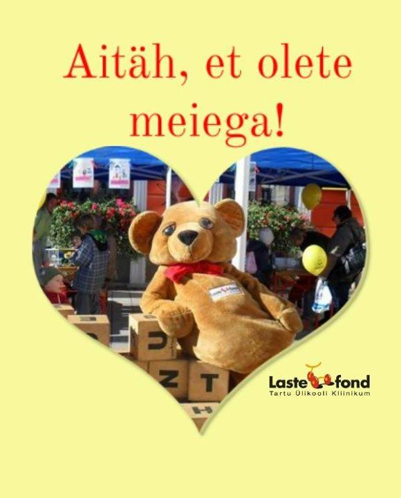 AITÄH, ET OLETE MEIEGA! Lastefond korraldab heategevusliku perepäeva