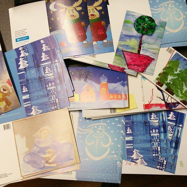 Täna avab SOS Lasteküla jõulukaartide näitusega jõuluhooaja