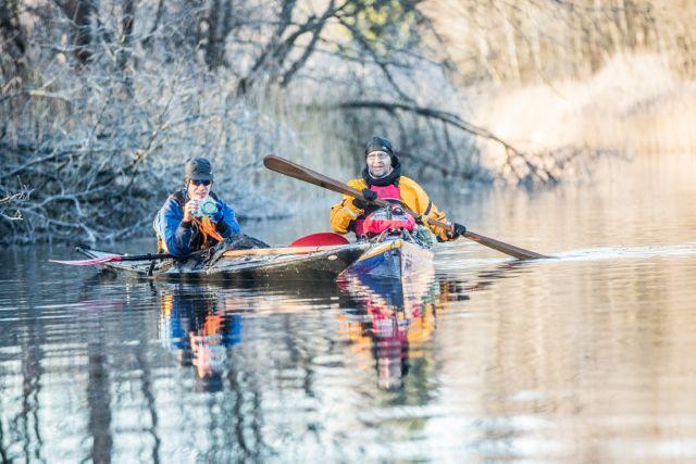 EESKUJU! Kajakisõitjad puhastasid Soomaa jõgesid olmeprügist