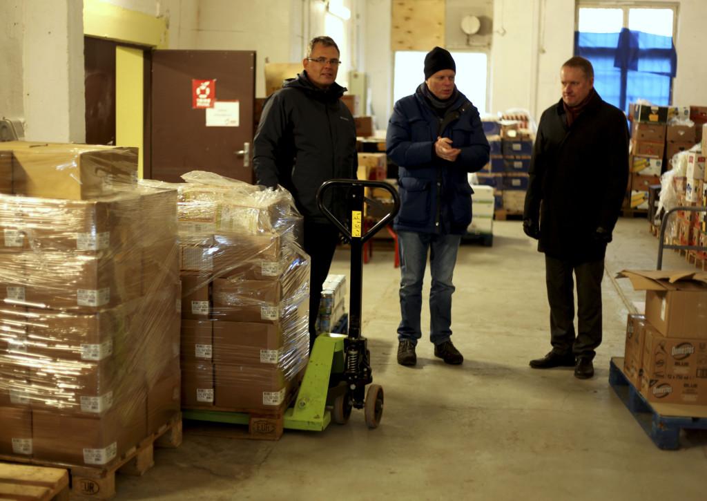 Vasakult: Ergo Neeme, Piet Boerefijn, Heikki Põhi