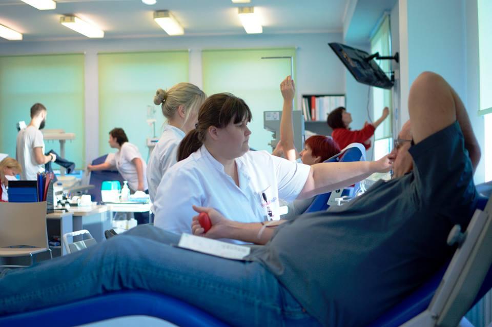 Tallinnas annetasid 76 doonorit 35 liitrit verd