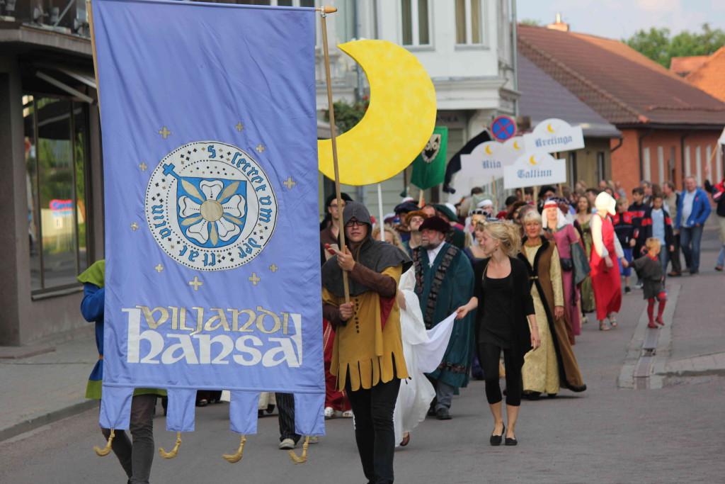 REGISTREERU VABATAHTLIKUKS! Rahvusvahelised Hansapäevad Viljandis ootavad oma meeskonda vabatahtlikke