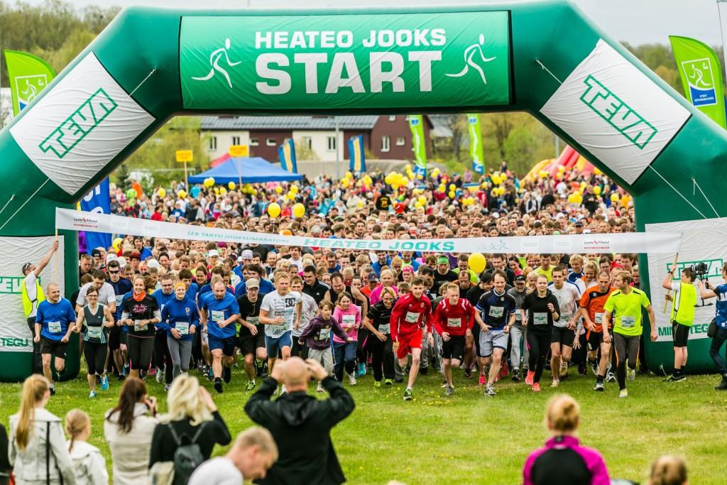 LASTE TERVISE HEAKS! Heateo jooksud on aidanud võimlema ligi 70 liigesehaiget last