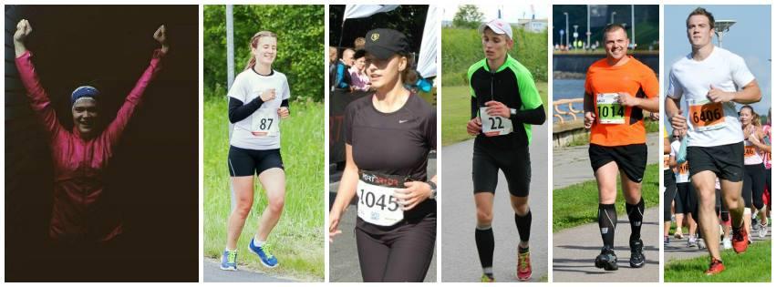 Noored harrastussportlased jooksevad Lastefondi toetuseks