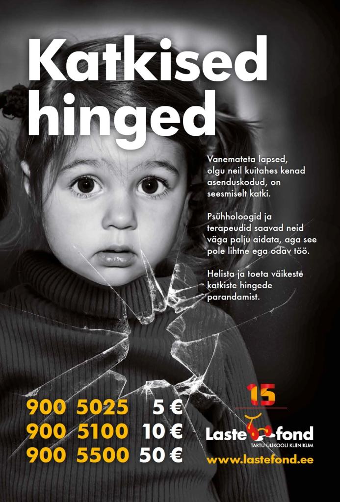 SÜNNIPÄEVAKS HEATEGEVUS! Kingituste tegemise asemel toetati Lastefondi kaudu asenduskodude lapsi