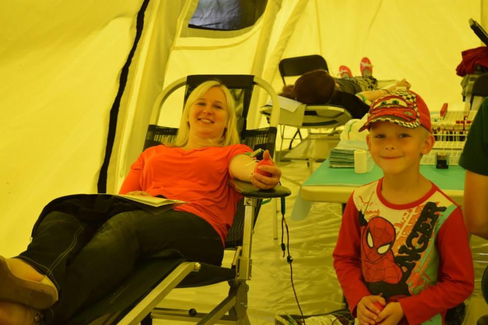Paide doonoritelkides loovutas kolme päevaga verd üle 400 inimese3
