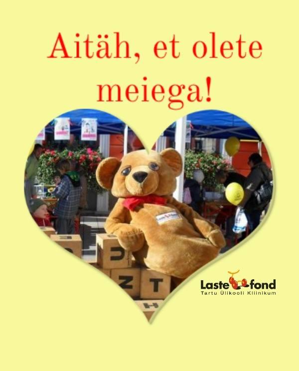 VARJUPAIK SAAB JÄTKATA ABISTAMIST! Lastefond jätkab Tartu naiste varjupaigas viibivate laste toetamist