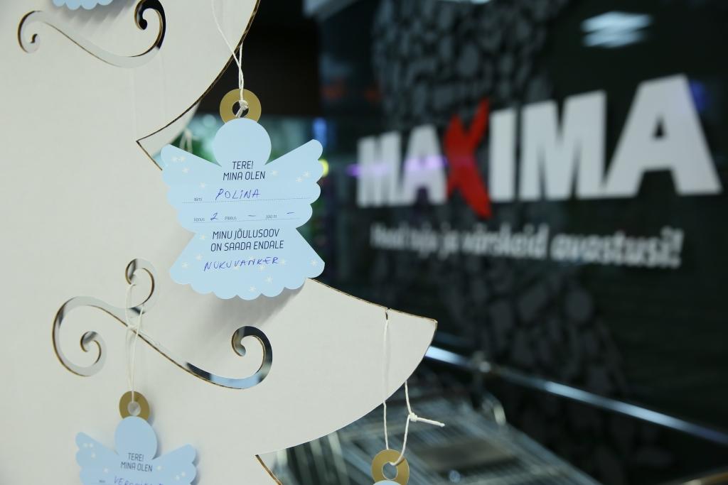 Maxima Inglipuudelt leiab ligi 2100 lapse jõulusoovid, mille täitmisele saab kaasa aidata igaüks