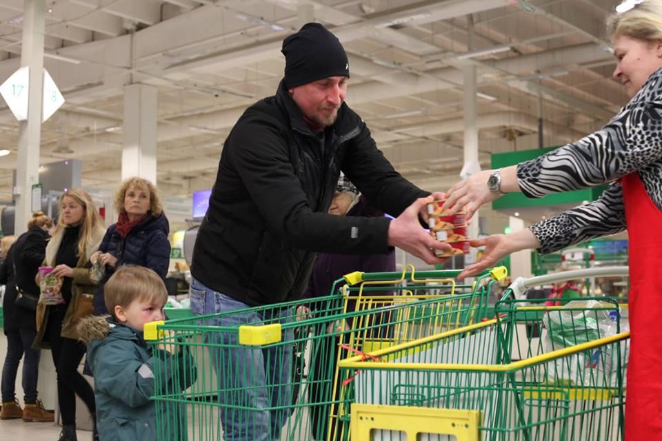 AITÄH HEADELE INIMESTELE! Toidukogumispäevade tulemuseks oli ligi 35 000 kg toidukaupa