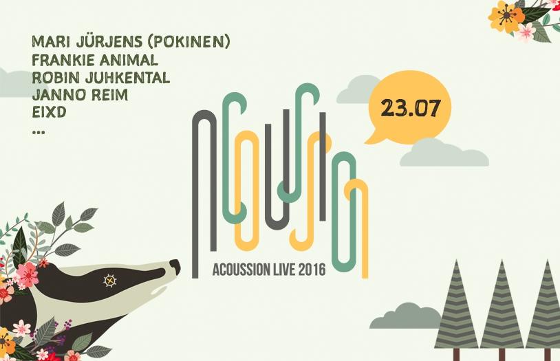 Uus akustilise muusika rändfestival kogub toetusi Hooandjas