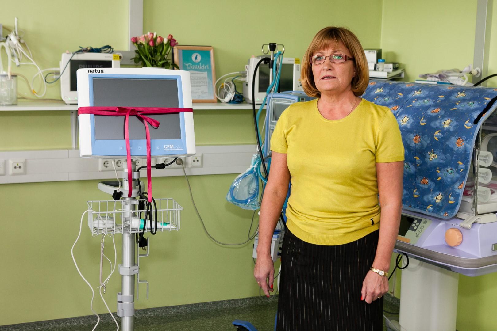 Dr. Imbi Moks, Lääne-Tallinna Keskhaigla juhatuse esinaine