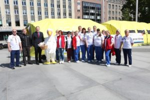 Doonoritelkide suve avamine Tallinnas Vabaduse väljakul