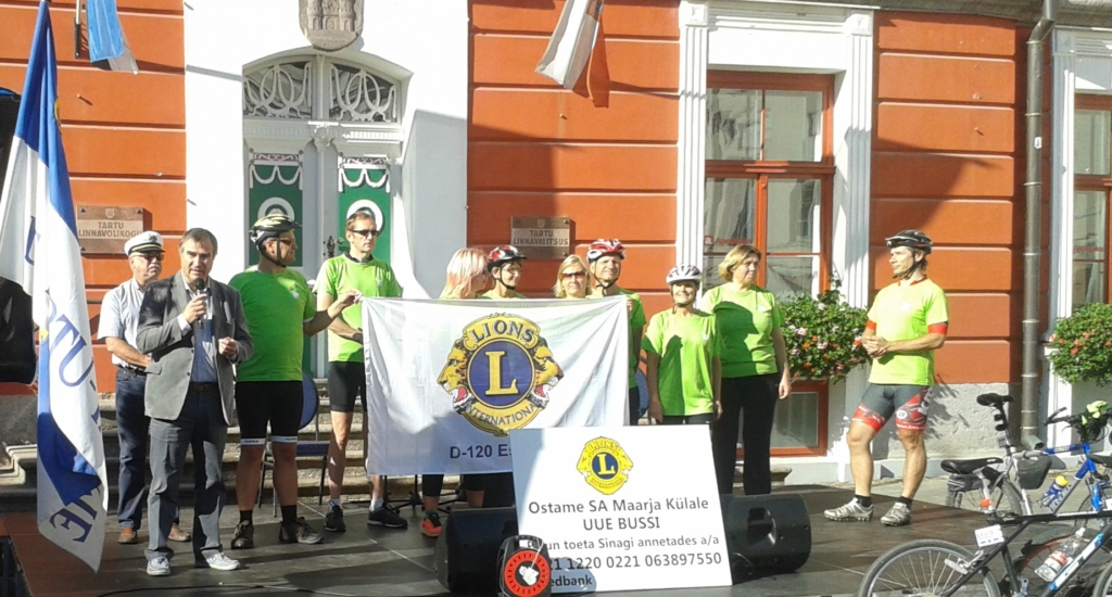 HEATEGEVUSLIK JALGRATTARETK! Heategevuslikul jalgrattaretkel koguti raha Maarja Külale bussi ostmiseks