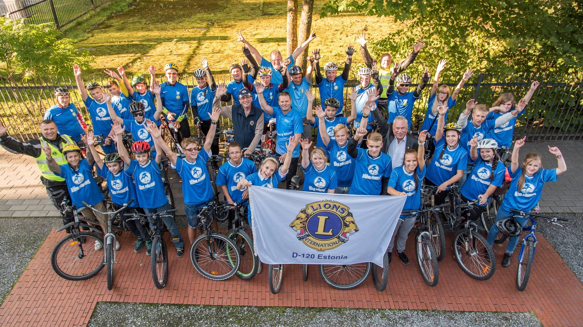 HEATEGEVUSLIK RATARETK! Nädalavahetusel toimub Eesti Lionite heategevuslik rattaretk
