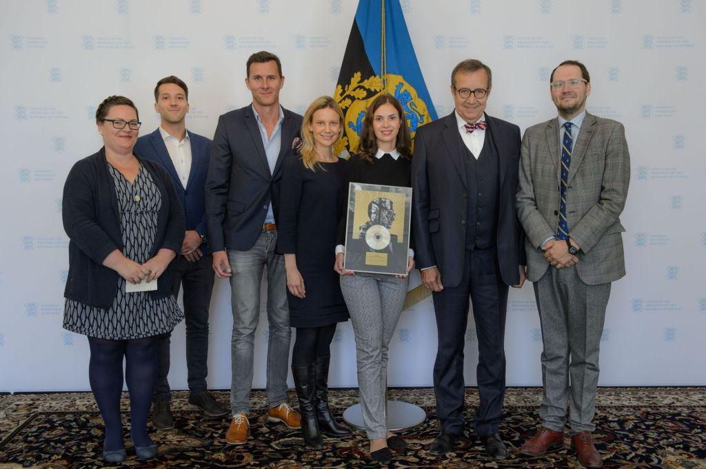 MEIL ON INSPIREERIV PRESIDENT! Presidendi kogumikplaadi müügist kogunes heategevuseks 4500 eurot