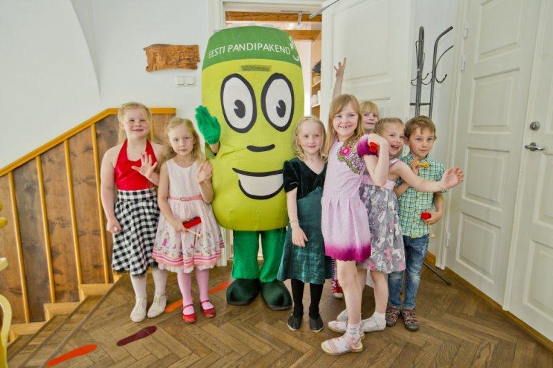 Pandipakendite annetusraha toob lasteaedadesse tasuta keskkonnateemalised etendused