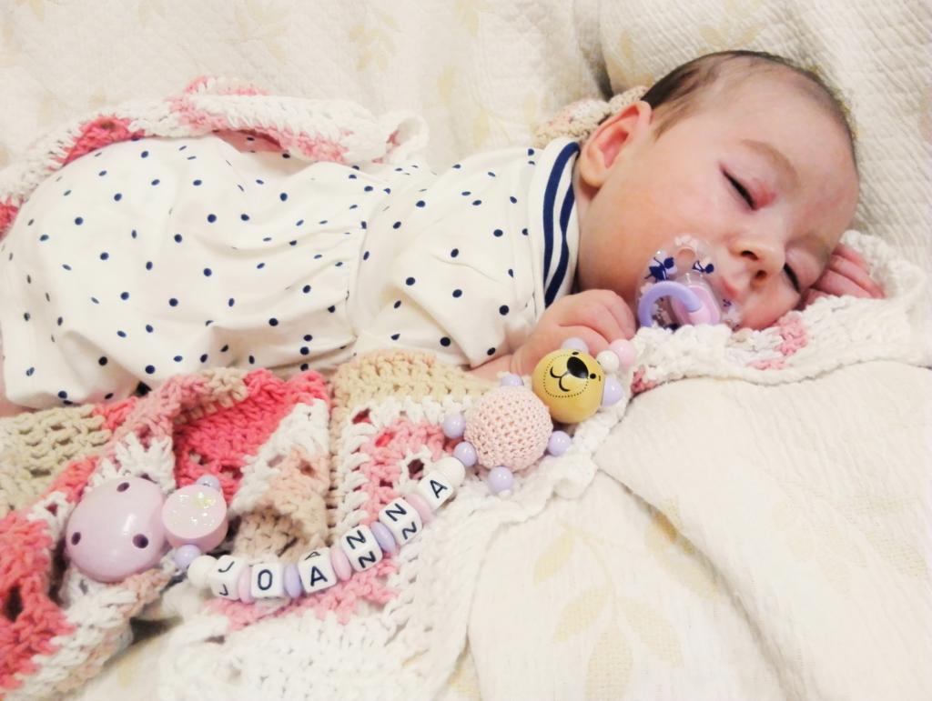 Lastefond toetab sünnitraumaga 3-kuust Joannat vajalike abivahenditega