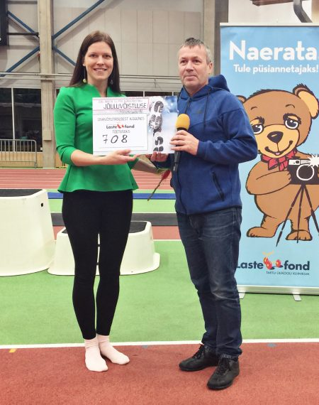 Laste jõuluvõistlus kogus Lastefondi toetuseks üle 700 euro
