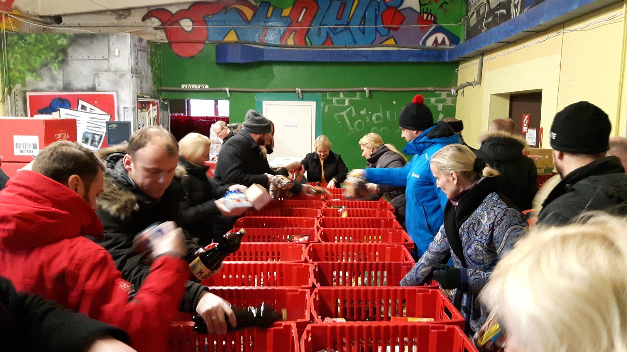Aitame üheskoos! Täna algavad toidukogumispäevad